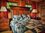 Queen Bedroom offers Luxury Linens