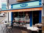 The Kinsale Pantry is a cafe below the apartment-great homemade meals