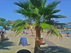 West beach in Almyrida