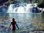 National Park Krka , a unique , heavenly river landscape ( 44 min.on motorways )