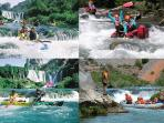 Zrmanja canyon river (4 km away) Full day Boat trips from Maslenica , kayaking, rafting, canoeing,