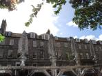 The Heart of Edinburgh's New town Queen Street.   World Heritage Site