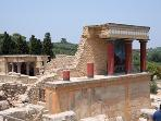 Knossos Palace,the center of the Minoan civilization
