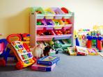 Lots of fabulous toys ready and waiting for your little ones - hours of fun!