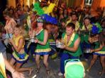 City carnivals, samba and fun.