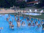 Piscine chauffée camping le Grand Cerf****