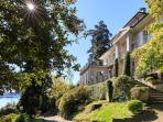 Villa rental Belvedere in Meina Lake Maggiore Italy