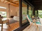 double bedroom deck