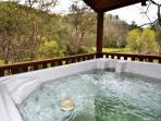 Soak your worries away in the Hot Tub