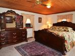 Large King Master Bedroom with private Balcony and Full Bath