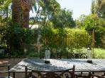 patio looking to garden