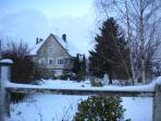 Thibault Villa France. Snow day
