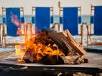 Bonfires Can be Arranged on the Beach