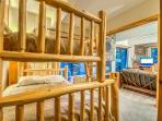 Second Bedroom With Twin Over Queen Bunk