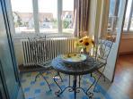 Thibault Villa France. Entering the house