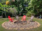 larger of the 2 fire pits