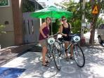 Free using bike explore the city