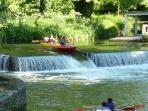 canoe kayak en amoureux
