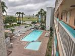Lounge around the community swimming pool on warm Texas days.