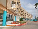 The best of beachfront living awaits when you stay at this fantastic Corpus Christi vacation rental condo!
