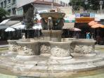 Morosini  Fountain in the center of Heraklion