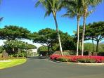 Entrance to Waiulaula gated compound