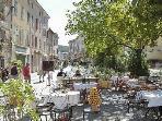Het dorpje La Garde Freinet