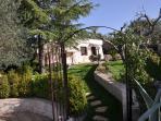 Ingresso giardino privato della Suite