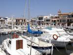 Hafen von Molinar