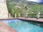 View to Shared Pool (8 x 4) from Casa Rosa Private Access.