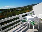 10 m2 balcony with the sea view