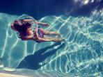 3 BDR | 3 BTHR Sea View, Sleeps 8, Access to pool