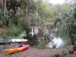 Private Resident's Beach kayak launching area.