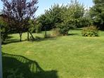 Ruhiger Garten zum entspannen