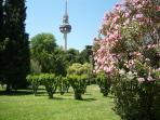 Quinta de la Fuente del Berro, 3 minutes walk. [By Cillas - Own work, GFDL]