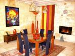 The Amazing & Colourful ArtdeVivre Dining Room