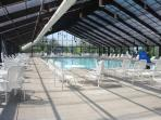 Indoor pool, open 10am to 10 pm