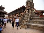 Prince Harry @ Durbar Square