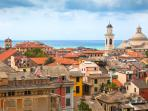 Chiavari is the nearest city (8 km) and offers whatever you need: beaches, restaurants, supermarkets