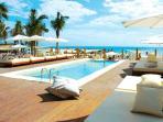 Gorgeous beach clubs