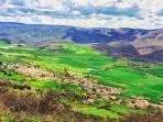 Eulate vista desde Urbasa