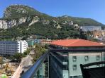 Beautiful views of the Rock of Gibraltar