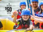 With each booking, receive a $50 voucher to put towards our awesome activities!
