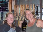 The Greenbush brewery staff are always helpful. Bring home a growler to enjoy at the cottage.