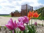 Spa dans le Jardin à la Française