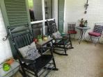 Front porch seating area - right