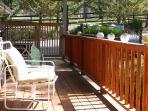 Sun bathe on the front porch
