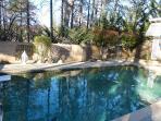 Beautiful mountain pool