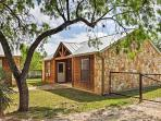 This Lakehills cabin is perfect for 2 guests.
