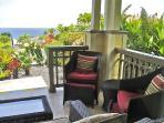 Relaxing lanai ocean view
